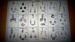 Hodinářství a klenoty Soukupovi Olomouc Povel ukázka zboží příjemné ceny levné stříbro